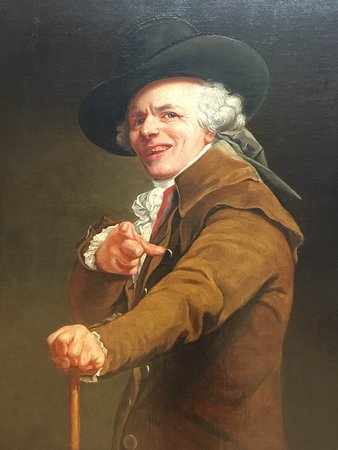 portrait of joseph ducreux portrait of joseph ducreux, now a famous meme picture of louvre
