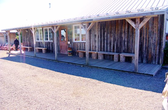 Champlain, Kanada: Cabaña para comidas de grupo