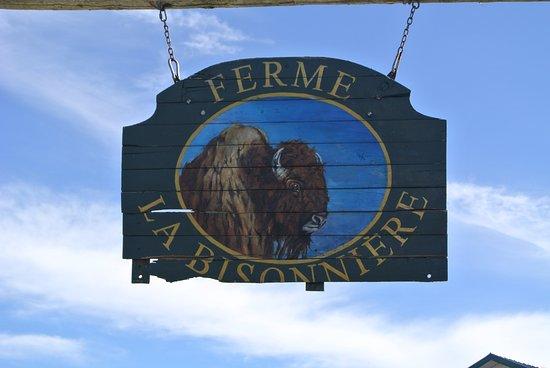 Шамплейн, Канада: Letrero de la granja