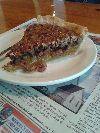 Murray Harbour, Canada: Pecan pie (homemade flaky crust!)