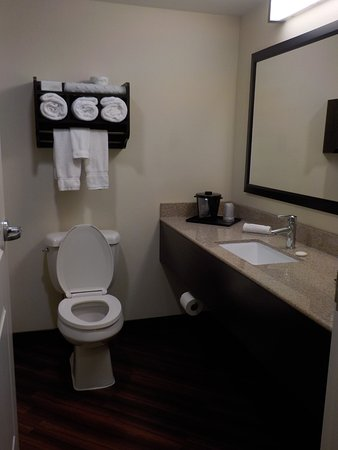 La Quinta Inn & Suites Memphis Wolfchase: Nice large bathroom with large soft towels.
