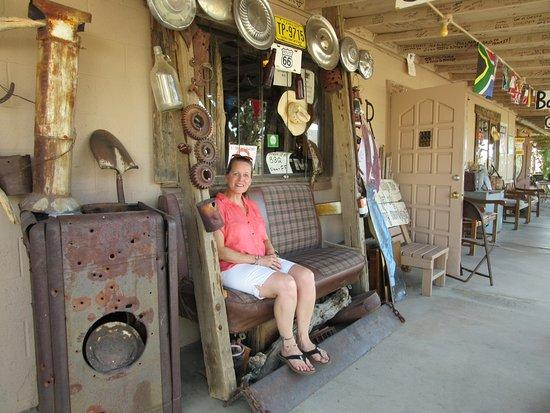 Chloride, AZ: Relaxen bij Digger Dave.