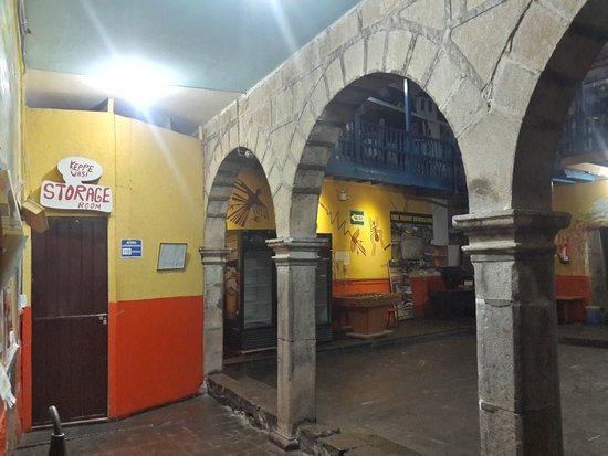 The Point Hostels - Cusco: Storage