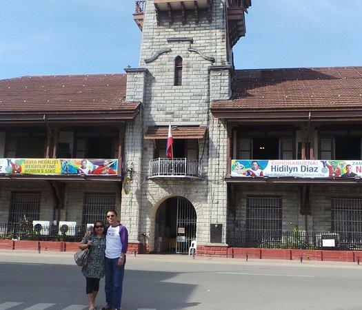 Zamboanga City Hall: City hall facade. It has a balcony overlooking the city.