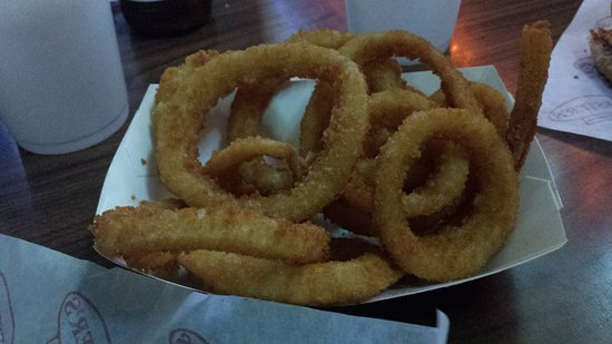 Universal City, TX: onion rings