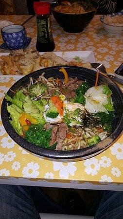 Mission, Canada: Spicy chicken ramen soup