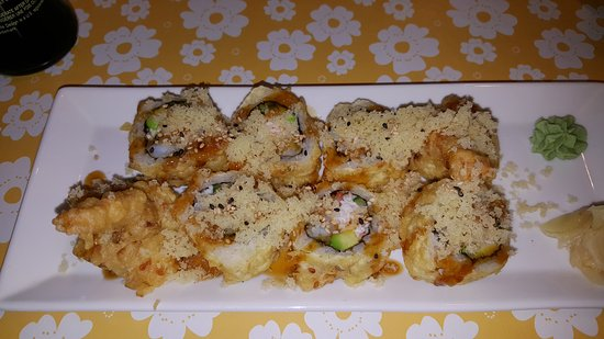Mission, Kanada: Deep fried Dynamite roll