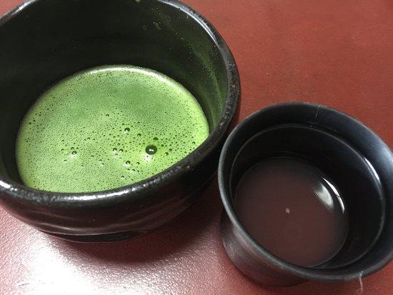 Toba View New Hotel Hanashinju: お抹茶とおしるこ