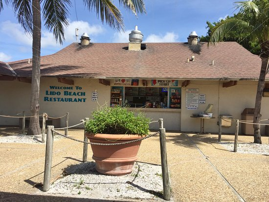 Photo of American Restaurant Lido Beach Restaurant at 400 Benjamin Franklin Dr, Lido Key, FL 34236, United States