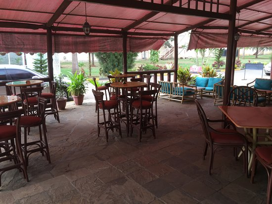 patio setting clean and prompt picture of mon ami kisumu