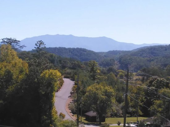 Whispering Pines Condominiums: View from 3rd Floor Balcony