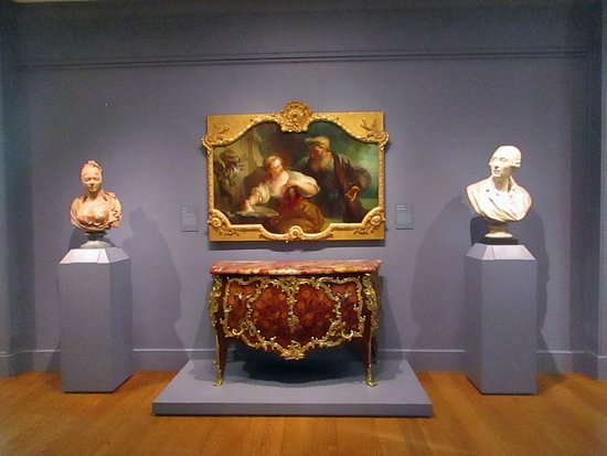 Williamstown, MA: The Amorous Proposal, busts, and chest