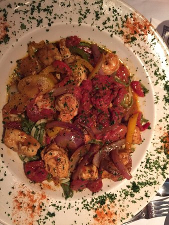 Short Hills, NJ: I just keep going there. The food is really good and it will take for ever to have worked my way