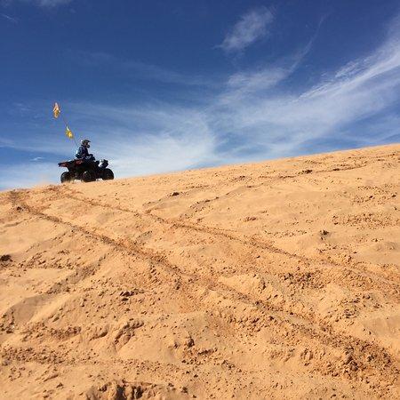 Waynoka, OK: Huge Sand Dunes!