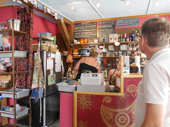 New Carlisle, Canadá: Café-Intérieur