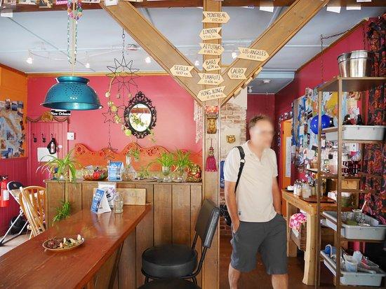 New Carlisle, Canada: Café-Intérieur