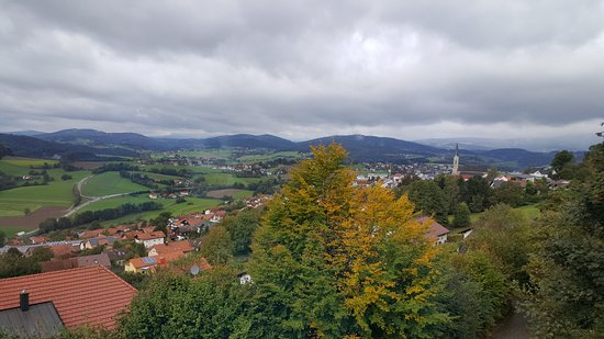 Waldkirchen, Germany: Wiev from the dining salon