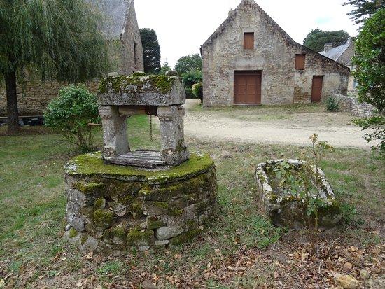 Chat Sur La Toiture De La Chapelle Saint Cado Picture Of