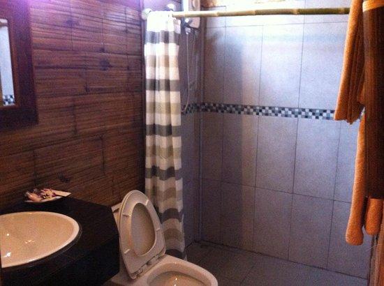 Jaidii Guesthouse : toilet and bathroom