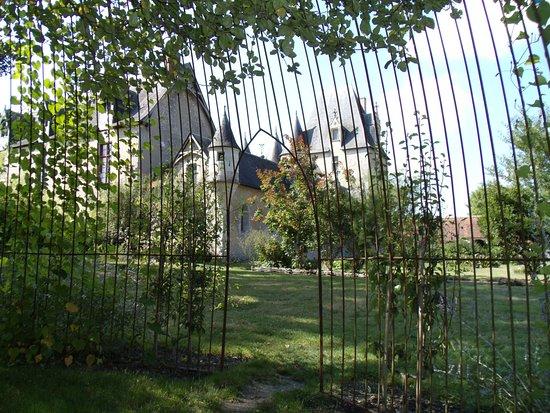 Fougeres-sur-Bievre, Frankrig: Vue du jardin