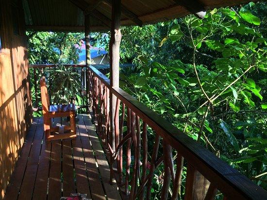 Puerto Viejo de Sarapiqui, Costa Rica: Balcony