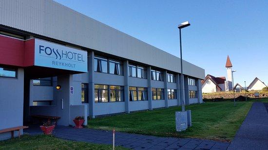 Reykholt, Islandia: hotel - front