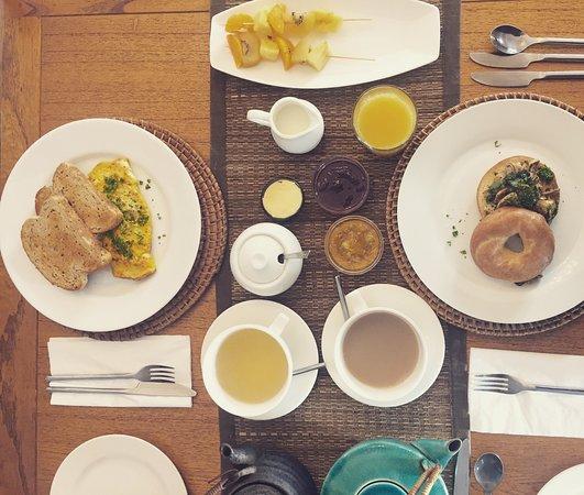 Lupton Lodge: Breakfast