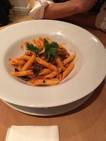 Overpriced pasta