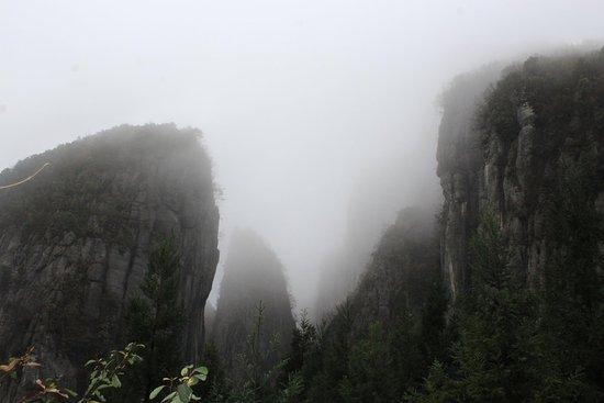 Enshi, จีน: Amazing mountains
