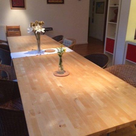 Montbray, France: Breakfast room