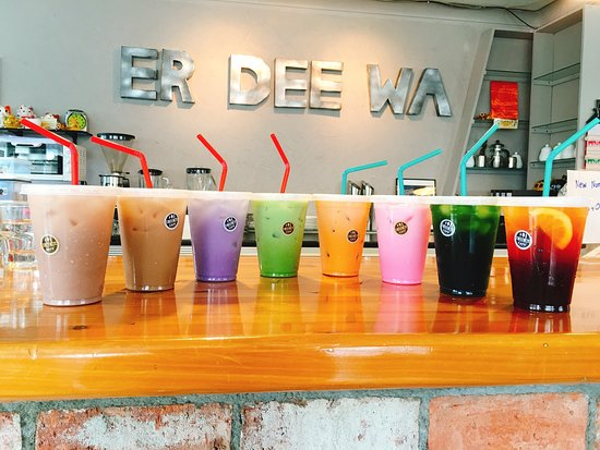 Clive, New Zealand: Enjoy! Everyday is summer at Er Dee Wa Cafe