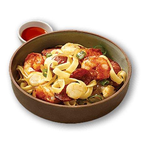 crust gourmet pizza bar spicy spanish sea food pasta