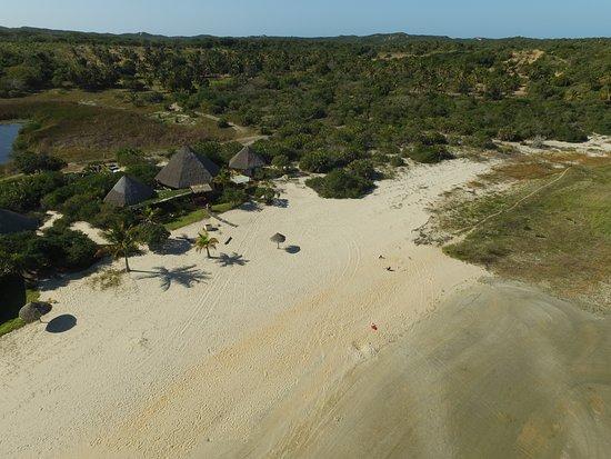Inharrime, Mozambique: Sky view