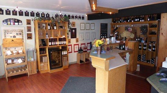 Cawston, Kanada: Weinprobierstube