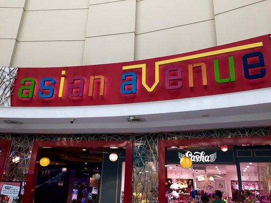 Asian avenue restaurant