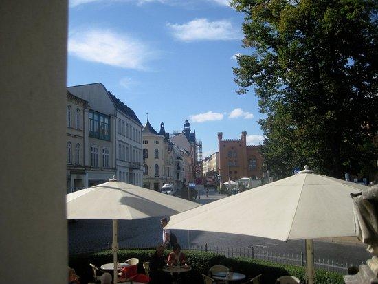 Friedrich's - Restaurant: Blick vom Balkon