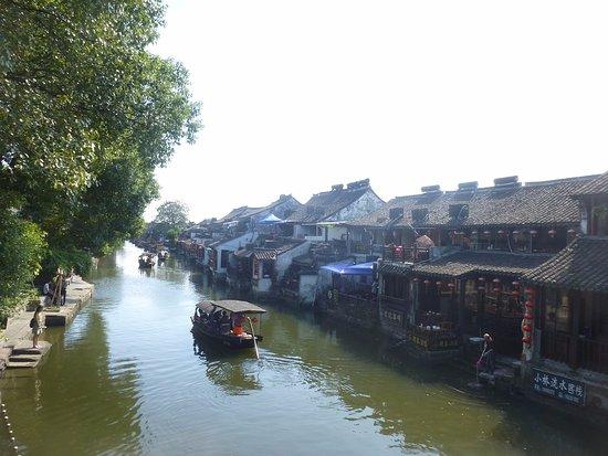 Jiashan County, Chine : 西塘古鎮