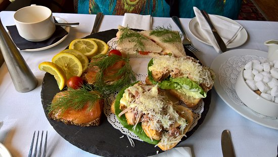 Bunclody, Irland: Sandwiches for Afternoon Tea