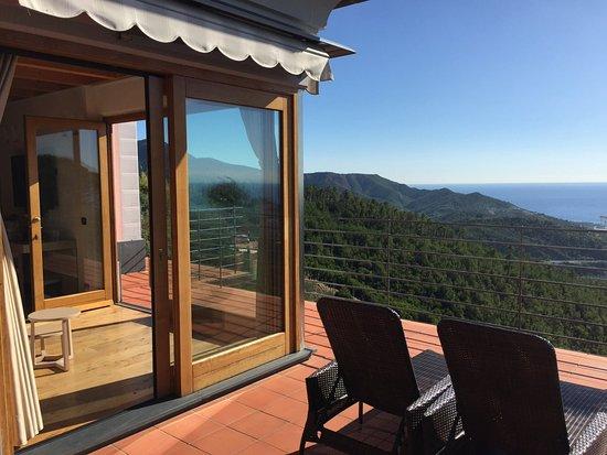 Casarza Ligure, Italien: private Terrasse