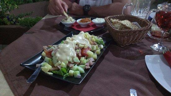 Trapezaki, Greece: Gefiri Salad