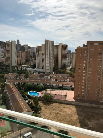 Playamar Apartments Click Benidorm: View From Apartment 12A