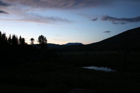 Clearwater Springs Ranch: Aussicht von Veranda und Zimmer bei Tag