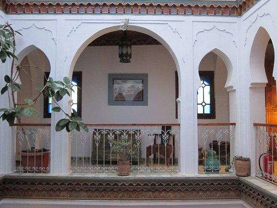 Hotel Riad Casa Hassan Restaurante, 3階からの風景