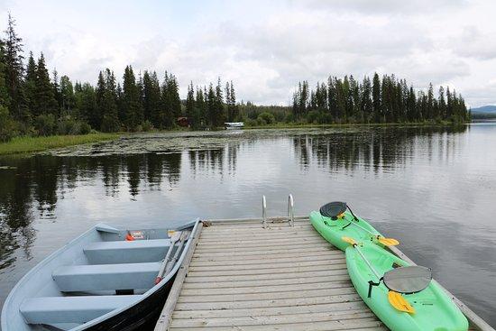 Lac La Hache, Canada: Am See