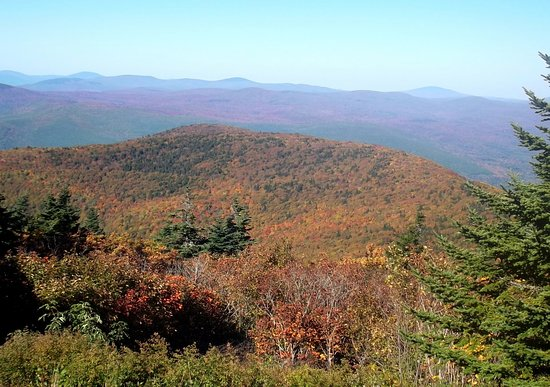 Mount Greylock: Autumn view from the summit