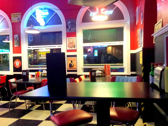 Intérieur du Cool Cat - Bild von Cool Cat Cafe, Pismo Beach ...