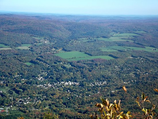 Adams, MA: View from observation area