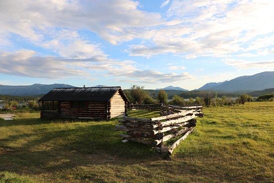 Kleena Kleene, Canadá: Aussicht von der Ranch