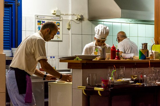Eva Taverna: Открытая кухня