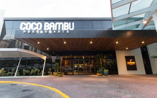Excelente Restaurante Coco Bambu Recife